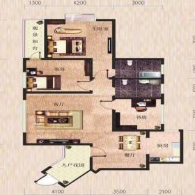 金滩·半岛豪苑H栋1-1户型