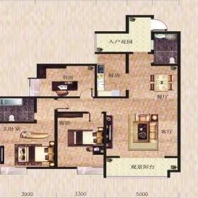 金滩·半岛豪苑H栋1-5户型