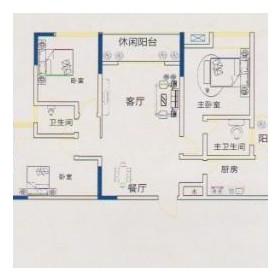 锦鹏·国际G-2户型