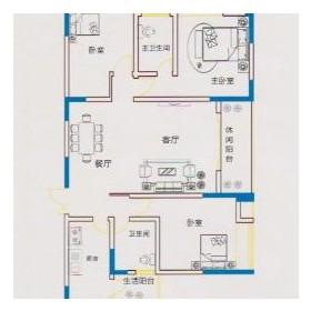 锦鹏·国际G-3户型