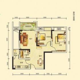 宝润国际3.4号楼户型-2