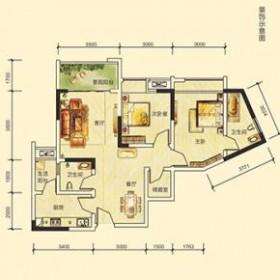 宝润国际3.4号楼户型-3